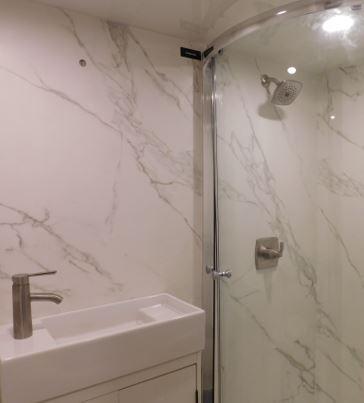 Two Step Bathroom
